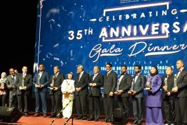 Celebrating our 35th Anniversary with Prime Minister of Malaysia,Tun Dr.Mahathir Mohamed