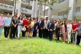 PhD students from China,Oman,Bangladesh &other countries at Binary's campus