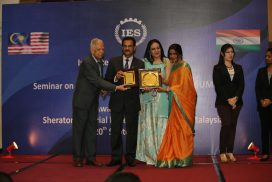 Award to Binary's DVC by Inst of Economic Studies,India