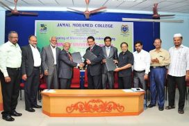 MoU with Jamal Mohamed CollegeTrichy