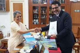 Partnership with Stella Maris College,Chennai for 1+2 bachelors and MBA